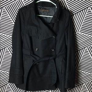 ZARA Pea coat x P Coat x Peacoat x black x Jacket